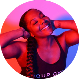 Cycle instructor, Jenn Braswell, Founder Hour Cycle Studio