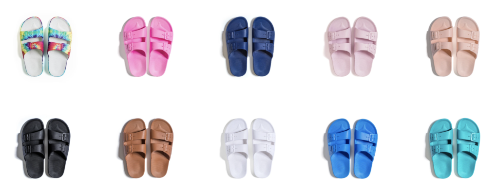 variety of colorful slides