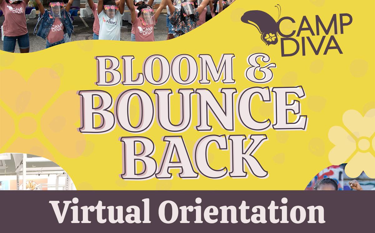 Camp Diva Virtual Orientation