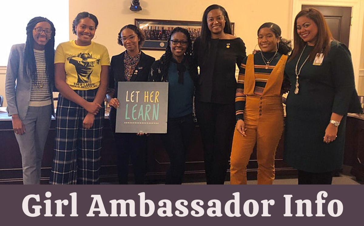 Girl Ambassador Info